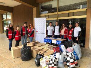 Волонтерите на Хрватски Форум и Црвен Крст во Тетово