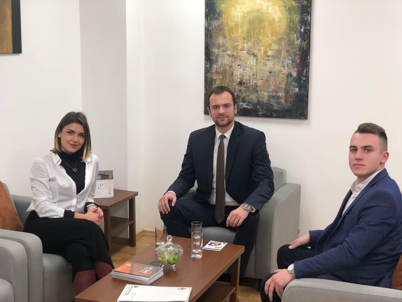 Остварена средба со директорот на КОВЗРГ, г-дин Даријан Сотировски