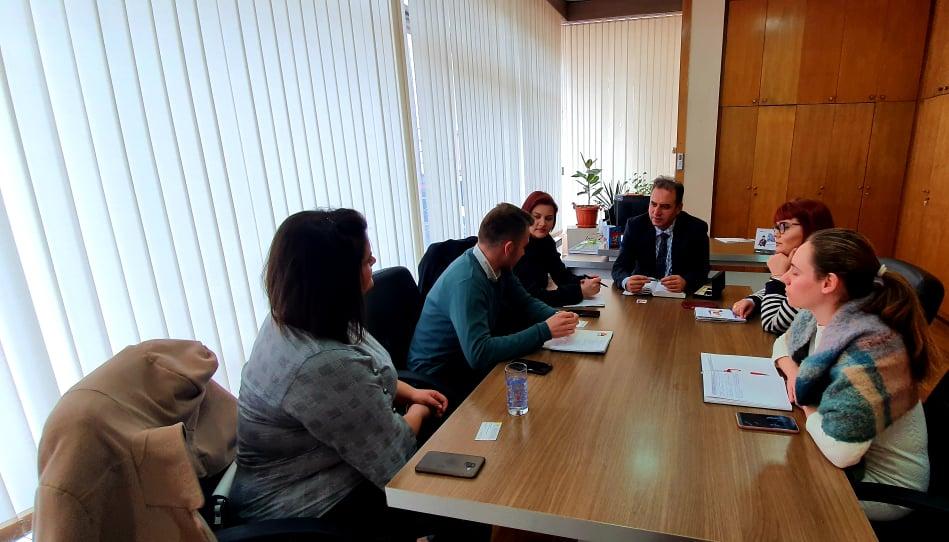 Sastanak S G. Ahmedom Ćazimijem, šefom Sektora Za Javne Poslove Općine Tetovo