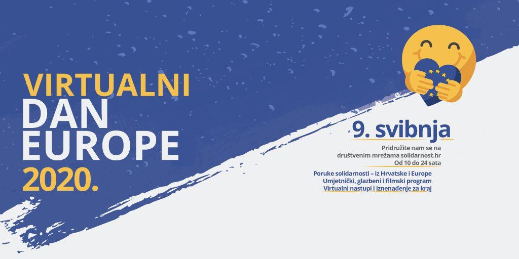 Dan Europe Po Prvi Puta Obilježavamo Virtualno