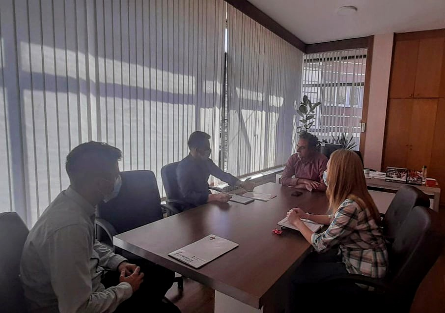 Koordinacijski Sastanak HF-a S Predstavnicima Općine Tetovo