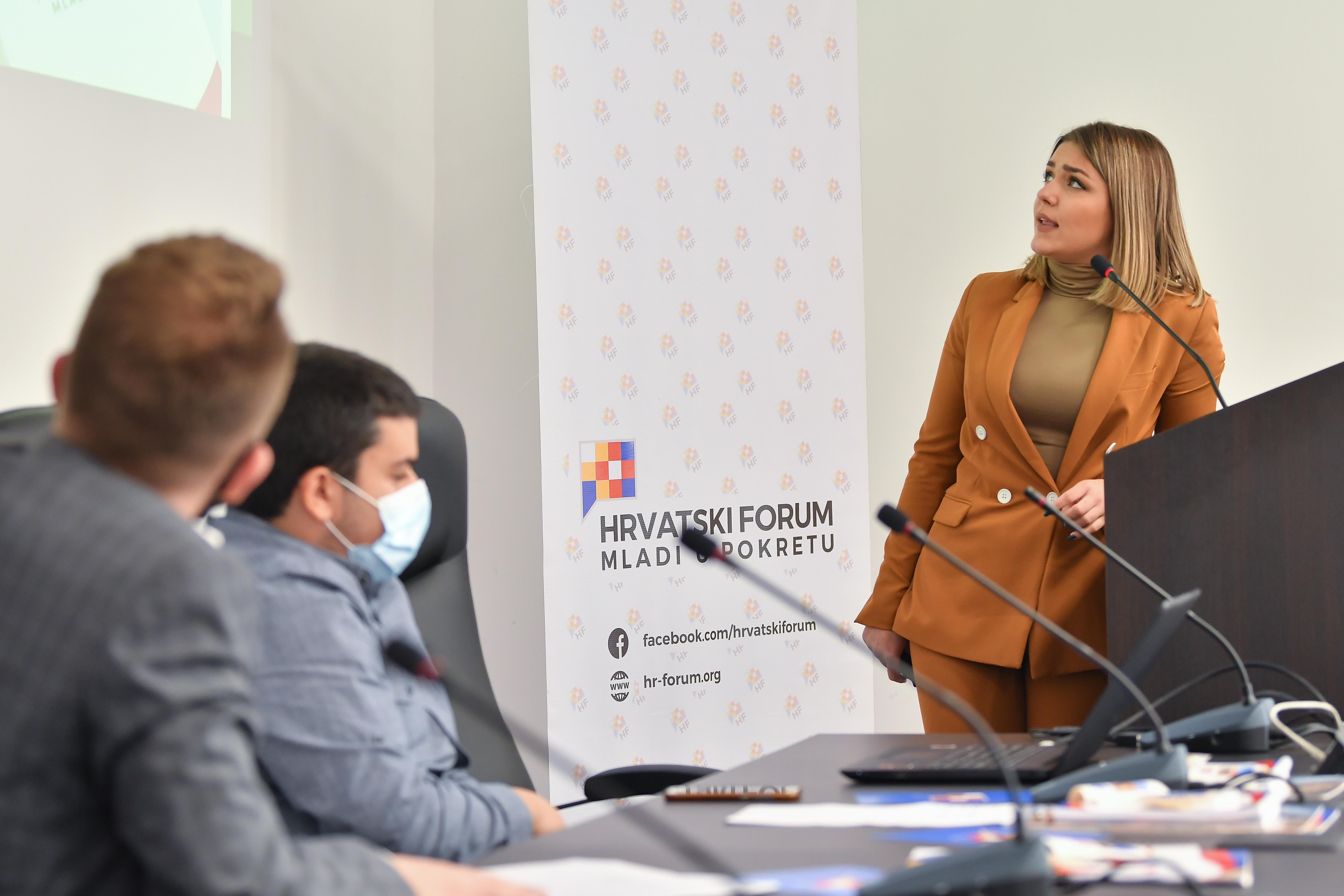 Изборно собрание на Хрватски Форум: избрани претседателка и потпретседатели