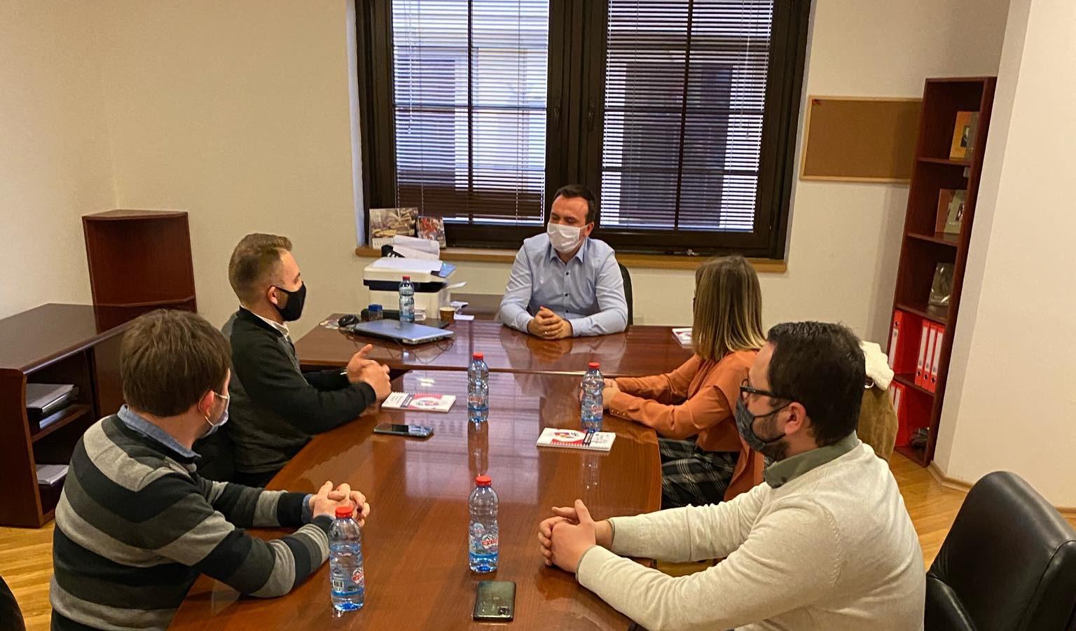 Koordinacijski Sastanak HF-a Sa Zamjenikom Ravnatelja Agencije Za Mlade I Sport