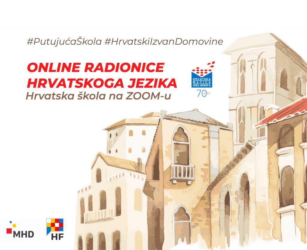 [ NAJAVA ] Online Radionice Hrvatskog Jezika #PutujućaŠkola